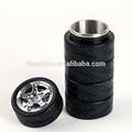 Productos innovadores y creativos de acero inoxidable en forma de neumático neumático tazas/mugs/tarros taza