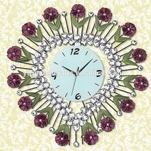 OXGIFT Fashion atmosphere wall clock ,Wrought iron set auger creative wall, clock European rural art clocks and watches