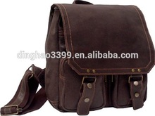 Latest Fashion Men Genuine Leather Briefcase shoulder bags for Men 2015