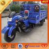 Carga pesada motocicleta de tres ruedas para carga abierta / triciclo de carga