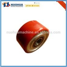 rubber coated steel wheel