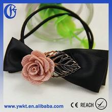 hair bungee bands elastic hair bands new flower hair band