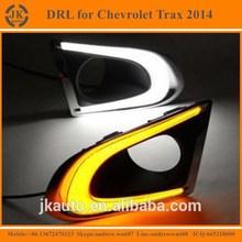 New Arrival Light Guide Style LED Daytime Running Light for Chevrolet Trax Super Bright LED DRL for Chevrolet Trax 2014