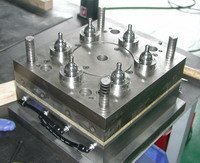Two color plastic injection moulds supplier in Taiwan high quality steel mould form mode mold