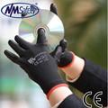 Nmsafety PU1350 2015 new design preço barato 13 G preto PU de trabalho luvas de palma revestido, Luvas de trabalho, Segurança do trabalho suprimentos