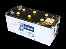 DIN 100 MF maintenance free automotive Batteries 12V 100AH