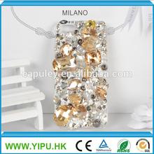 Full diamond luxury case for iphone 5S pearl case