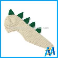 Imitate Animal Baby Woolen Crochet Winter Hat Child Knitted Hat Fur Pompons Beanie Hat
