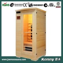 new good mini wood far infrared home sauna KL-1S