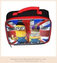 The new nylon cartoon children stationery bag nylon handbags handbag