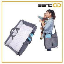 Quanzhou Sandoo foldable baby sleeping bag, outdoor folding baby bed bag