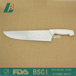 "10"" PP handle kitchen knife"