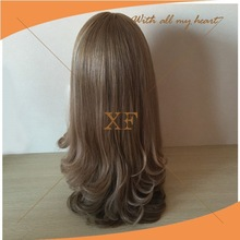 2015 new style natural hairline virgin mongolian hair topper jewish wig,human hair topper wig