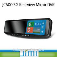 Car gps navigator Android bluetooth dual camera 1080p car dvr rearview, 3g dvr with sim card