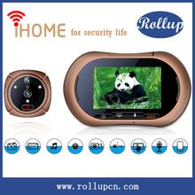 "Super clear Infrared 2MP/0.3MP 130""wide angel wireless solar doorbell,video doorbell,mp3 doorbell sounds"