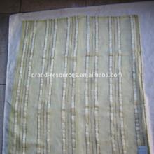 Organza fabric wedding decoration