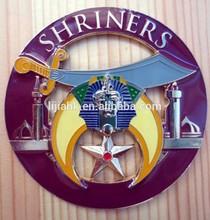 Enamal Logo Car Emblem/Custom Chrome Car Badge