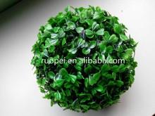 Landscaping Cheap Artificial Grass Ball For Garden Ornaments