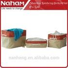 naham wholesale Korea foldable ikea style storage box set of 3