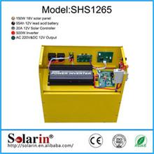 Small home high power solar system include sunpower solar panel