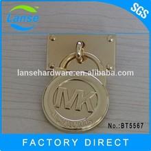 Hangbag металл логотип мк гуанчжоу производитель