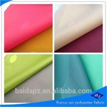 210d nylon fabric/silicone coated ripstop nylon fabric/92 nylon 8 spandex fabric