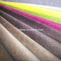 Tela de tapicería/100% de poliéster sofá de la tela/tela de terciopelo
