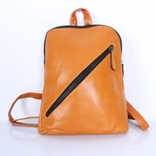 fashion cute waterproof women leather backpack