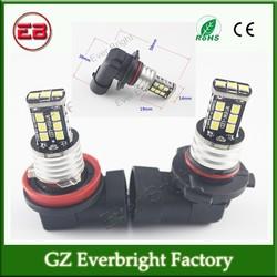 12V ,24V DC 9005/9006/H1/H4/H7/H11 2835 15SMD Canbus No Error Free Led Fog Light Headlight Lamp Bulbs,led drl fog light