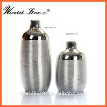 NHTC1065 Electroplated Ceramic Vase Gold Vase Silver Vase