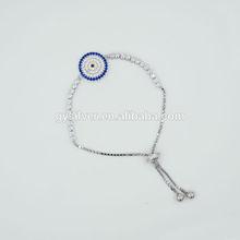 mais recente topo de venda 925 sterling pulseira de prata