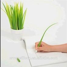 China supplier Office decorative pen Cute grass pen grass shape gel pen