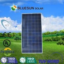 Bluesun high efficiency 72 piece 36V 300W Polycrystalline Solar Cell Panel