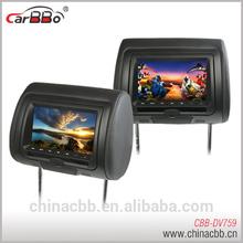 7'' car DVD headrest rear view monitor| car seat monitor