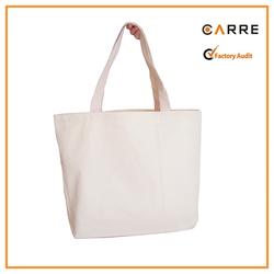 heavy duty custom printed reusable 12oz plain blank organic cotton canvas tote bag