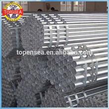 Q235B 2 inch galvanized steel pipe properties