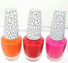 2015 caliente la venta del nuevo diseño 18 ml popular nail agrietado esmalte de uñas / barniz