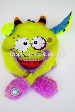 Handmade custom funny beanie knitted children winter hat