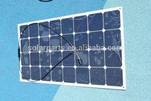 Monocrystalline PV flexible sunpower solar panel, yacht module