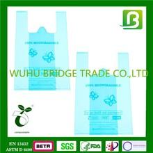 Gravure printing surface biodegradable shopper bags