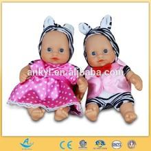8 polegada boneca vivo boneca bebê com bonitas vestuário duas bonecas juntos
