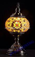 EVERSHINING BRAND 2015 NEW DESIGN GLASS MOSAIC TURKISH LAMPS YMA401