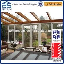 Aluminum slant sunroom, portable sun room, super quality and competitive price