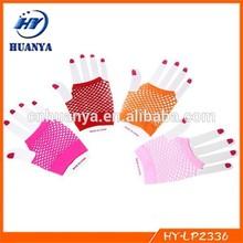 Fashion Neon Short Fishnet Gloves Fish Net Sexy Dress Party Dance Club Accessories