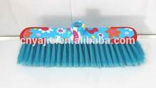 hot sale flower design printed broom decorated brooms , plastic brooms , brooms stick
