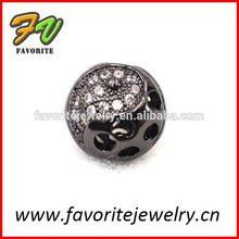gun black ball wholesale crystal football charms