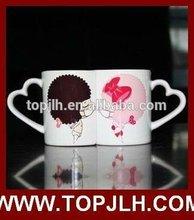 11oz Lovers coated ceramic sublimation mugs