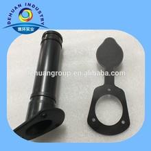 High density hard plastic fishing rod holder