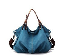 new products in 2015 canvas hobo tote bag
