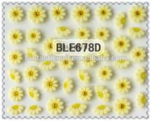 Hot sale Crystal 3D Nail Sticker Sweet SunFlower& Cute Rabbit Pattern Nail Sticker